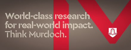 World-class research for real-world impact. Think Murdoch.